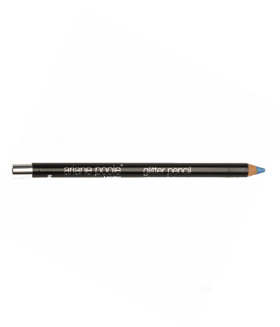 Glitter Eyeliner Pencil Blue Blue Ariane Poole Cosmetics