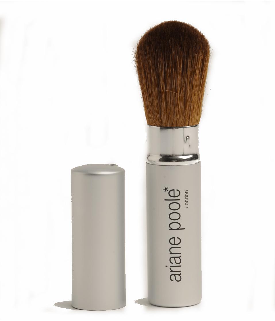 Retractable Powder Brush Ariane Poole Cosmetics
