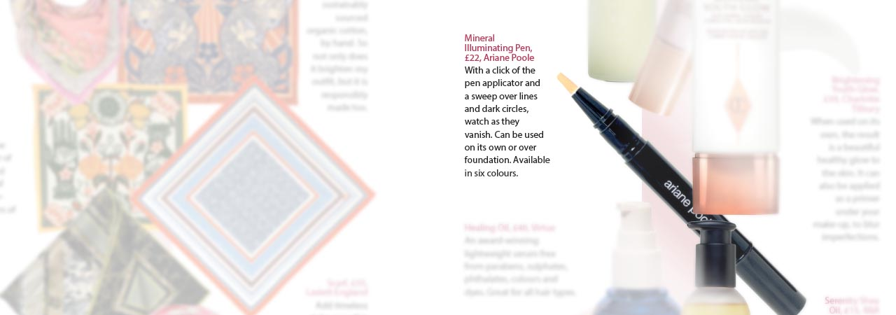 Mineral Illuminating Pen from Ariane Poole